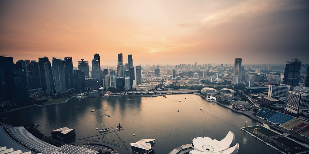Singapore - the gateway to Asia and springboard to SEA
